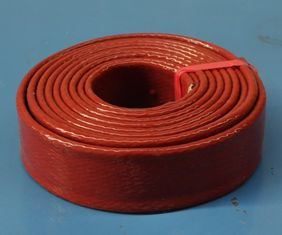 Alkali Free Silicone Rubber Fiberglass Sleeving Flame Retardant Noise Reduction